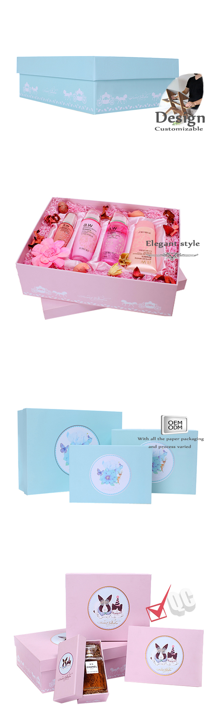 Perfume Packaging Box Factory